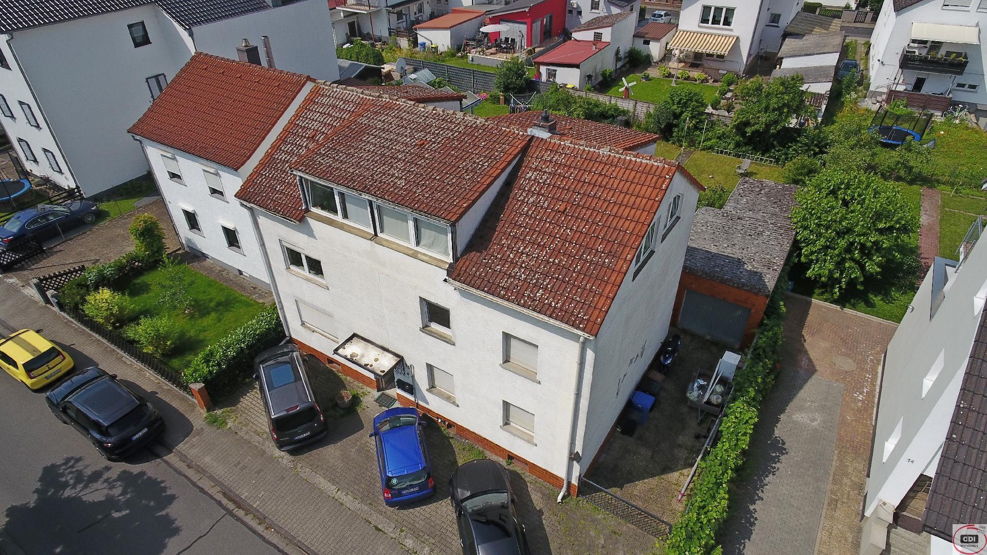 Solides Mehrfamilienhaus im Ortskern von Gernsheim