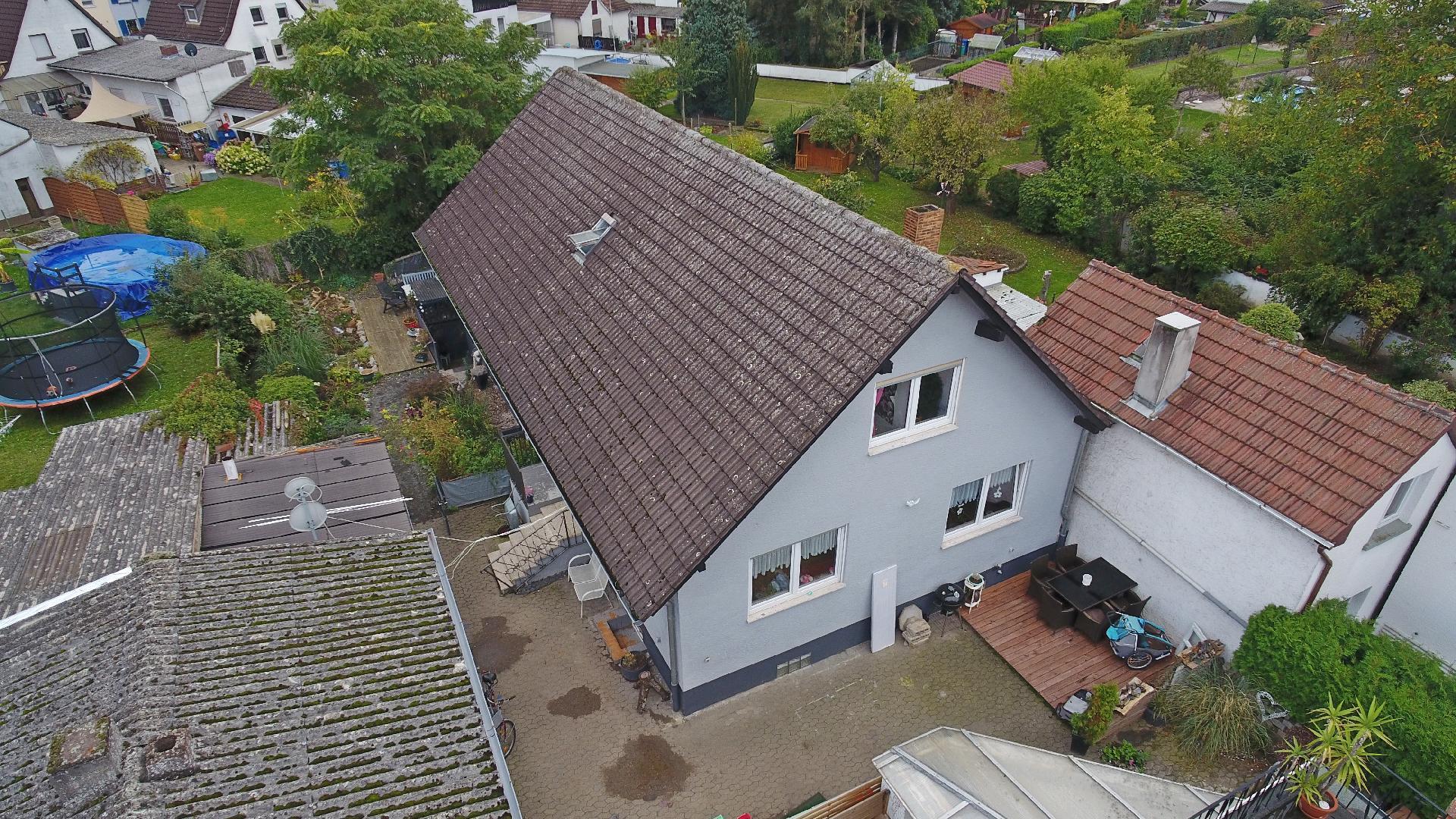 Freistehendes Einfamilienhaus weiterem Wohnpotenzial in Biebesheim
