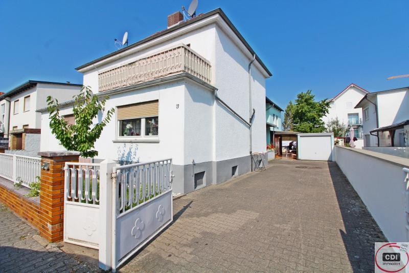 Nettes Einfamilienhaus für das individuelle Wohnen in Gernsheim