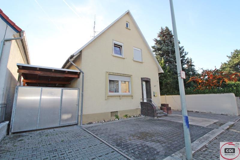 Solides Einfamilienhaus mit Potenzial im Zentrum von Gernsheim