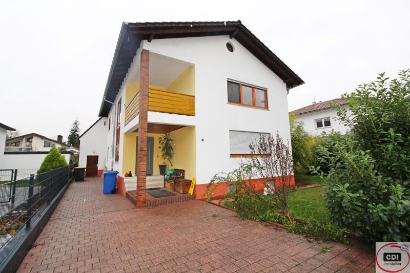 Funktionell geschnittenes Einfamilienhaus mit Garten in ruhiger Wohnlage von Stockstadt
