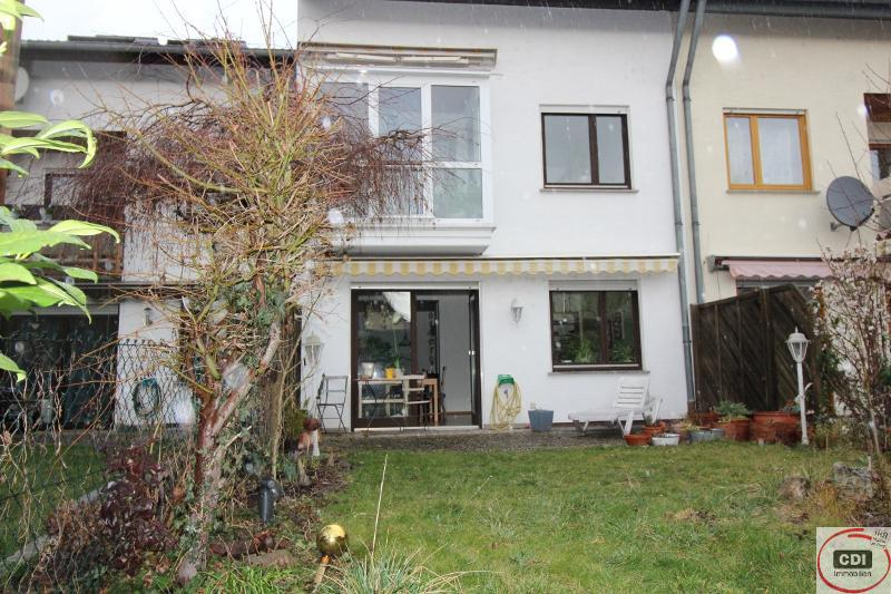 Reihenmittelhaus mit Wintergarten und kleinem Garten in zentraler Lage von Gernsheim sucht Mieter