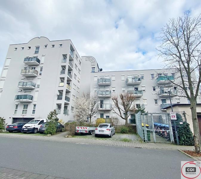 Anlageobjekt 5,25 % Brutto Rendite: 1-Zimmer Eigentumswohnung mit Tiefgaragenstellplatz in 1A Lage von Griesheim/Darmstadt