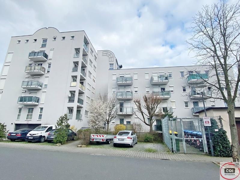 Anlageobjekt: 1-Zimmer Eigentumswohnung mit Tiefgaragenstellplatz in 1A Lage von Griesheim/Darmstadt