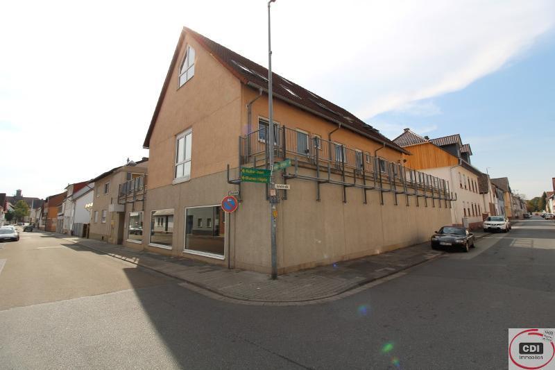 Wohn- und Geschäftshaus im Zentrum von Gernsheim (4,5% Rendite)